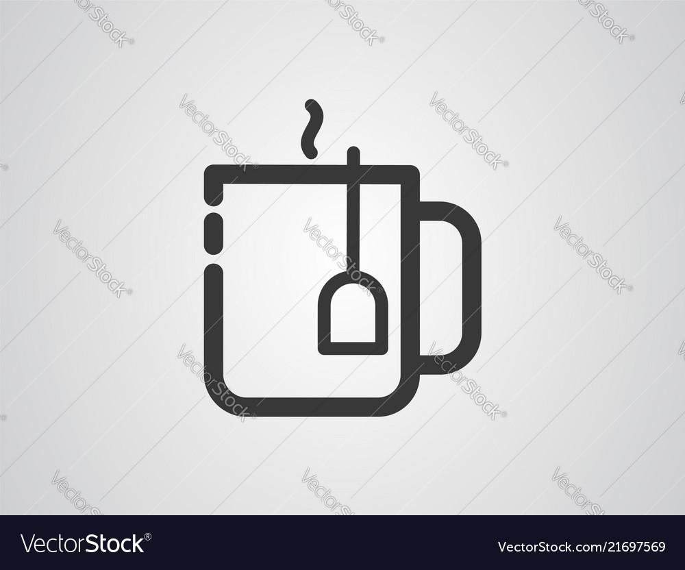 Tea icon sign symbol
