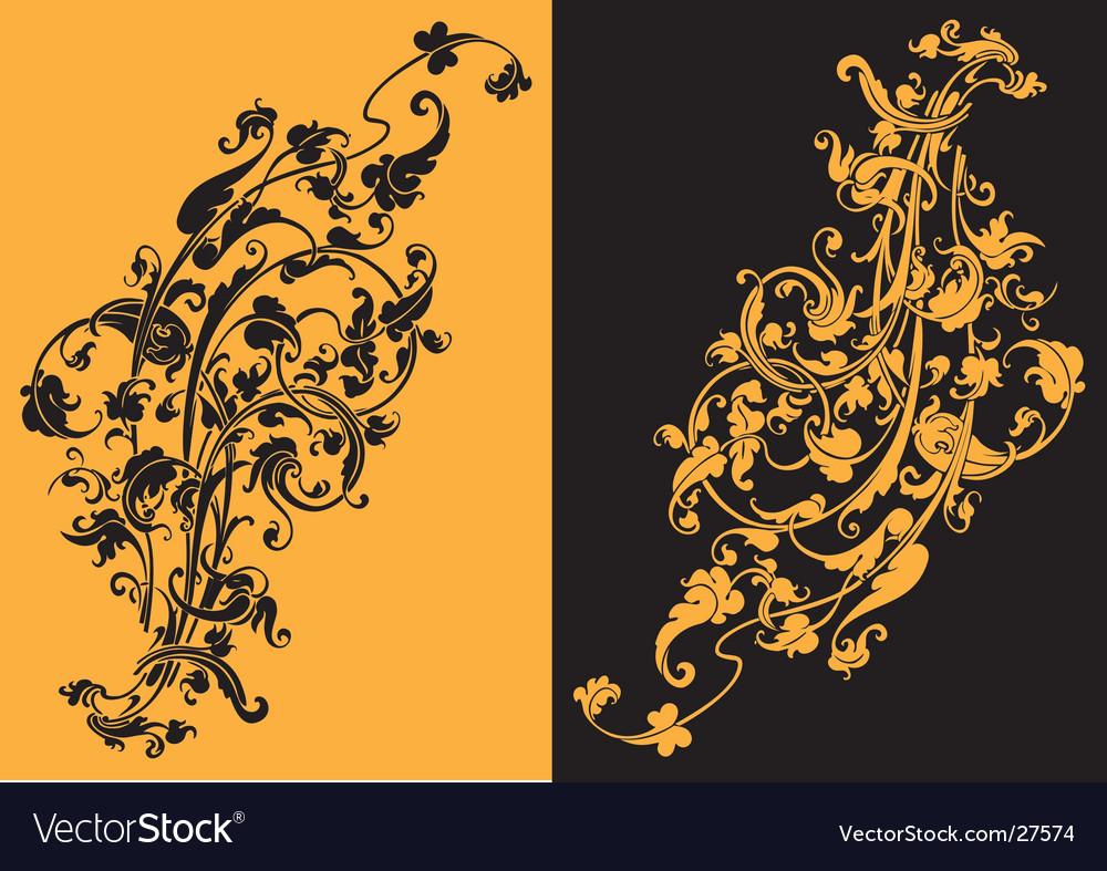 Artistic swirls