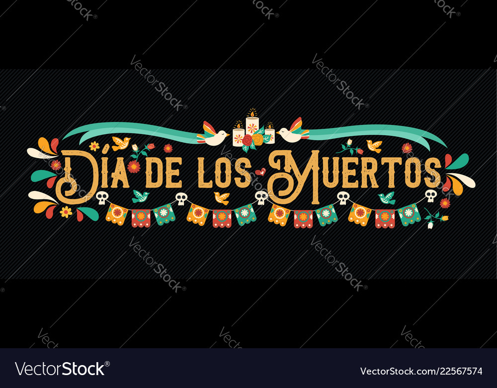 Day dead mexican skull art greeting card
