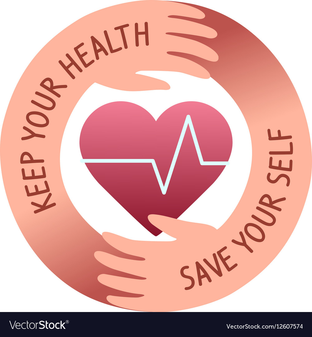 Health care logo vector image