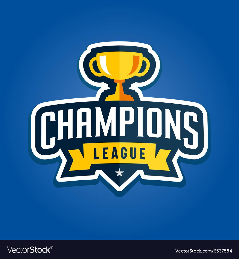 Champions league emblem