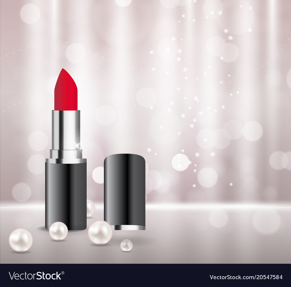 design cosmetics product lipstick template for ads