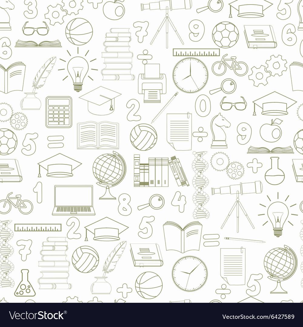 Education seamless background