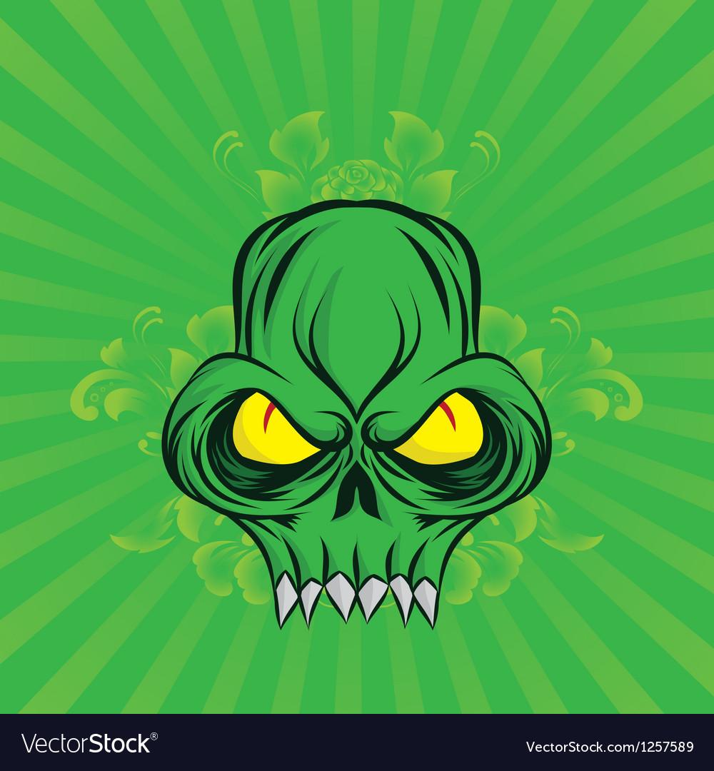 Green-skull