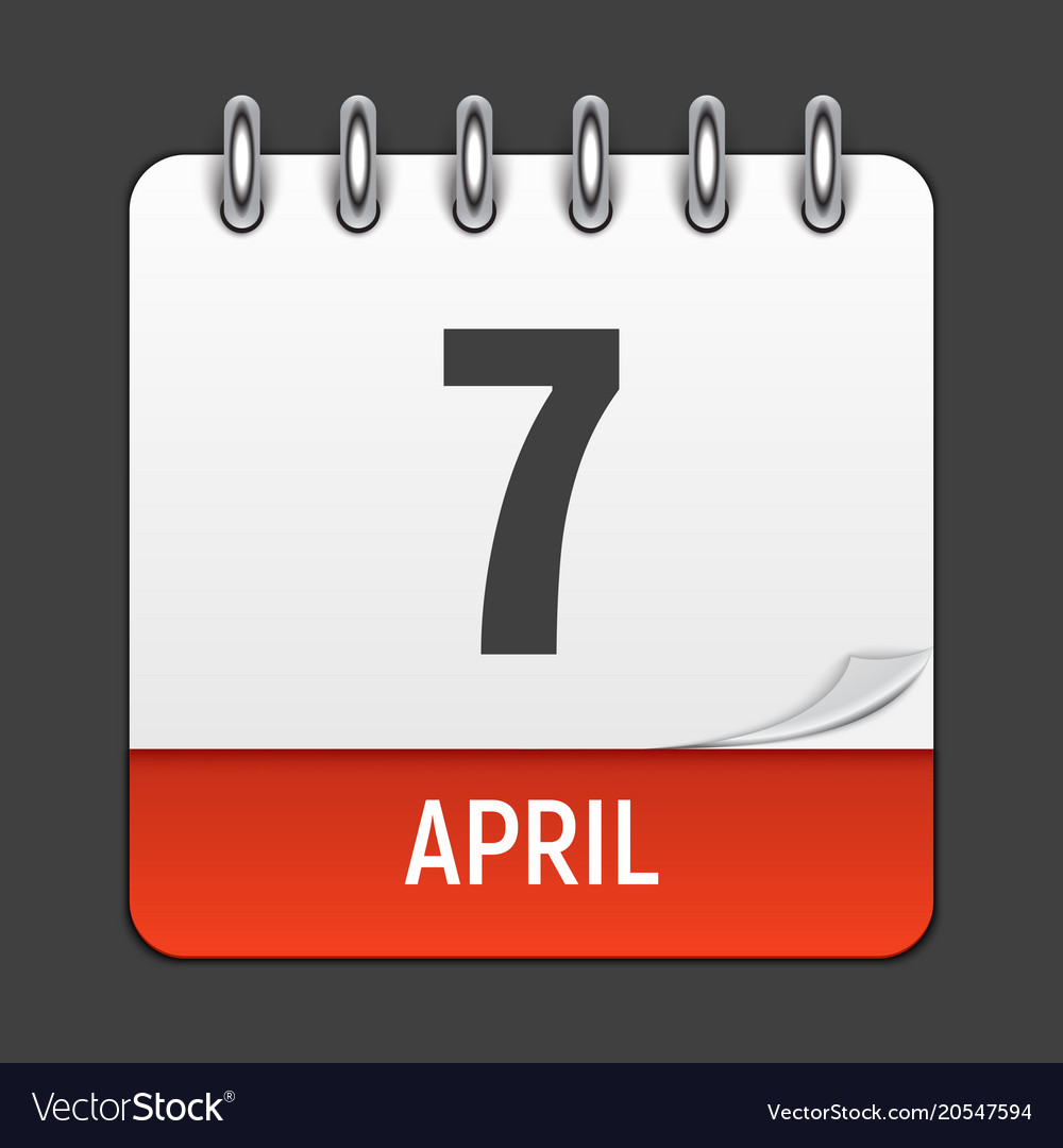Calendar Days Icon.March 17 Calendar Daily Icon World Health Day