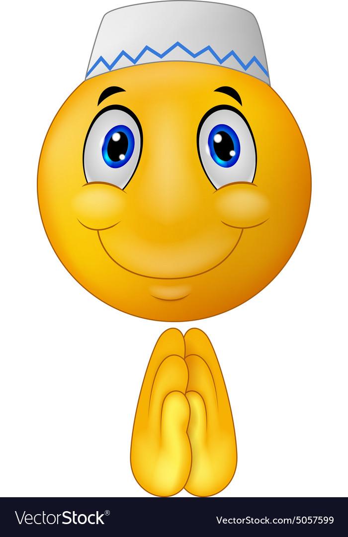 Greeting muslim emoticon royalty free vector image greeting muslim emoticon vector image m4hsunfo