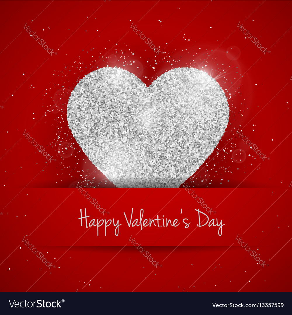 Happy valentines day greeting card royalty free vector image happy valentines day greeting card vector image m4hsunfo