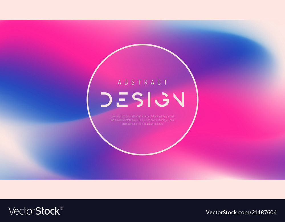 Abstract colorful background trendy