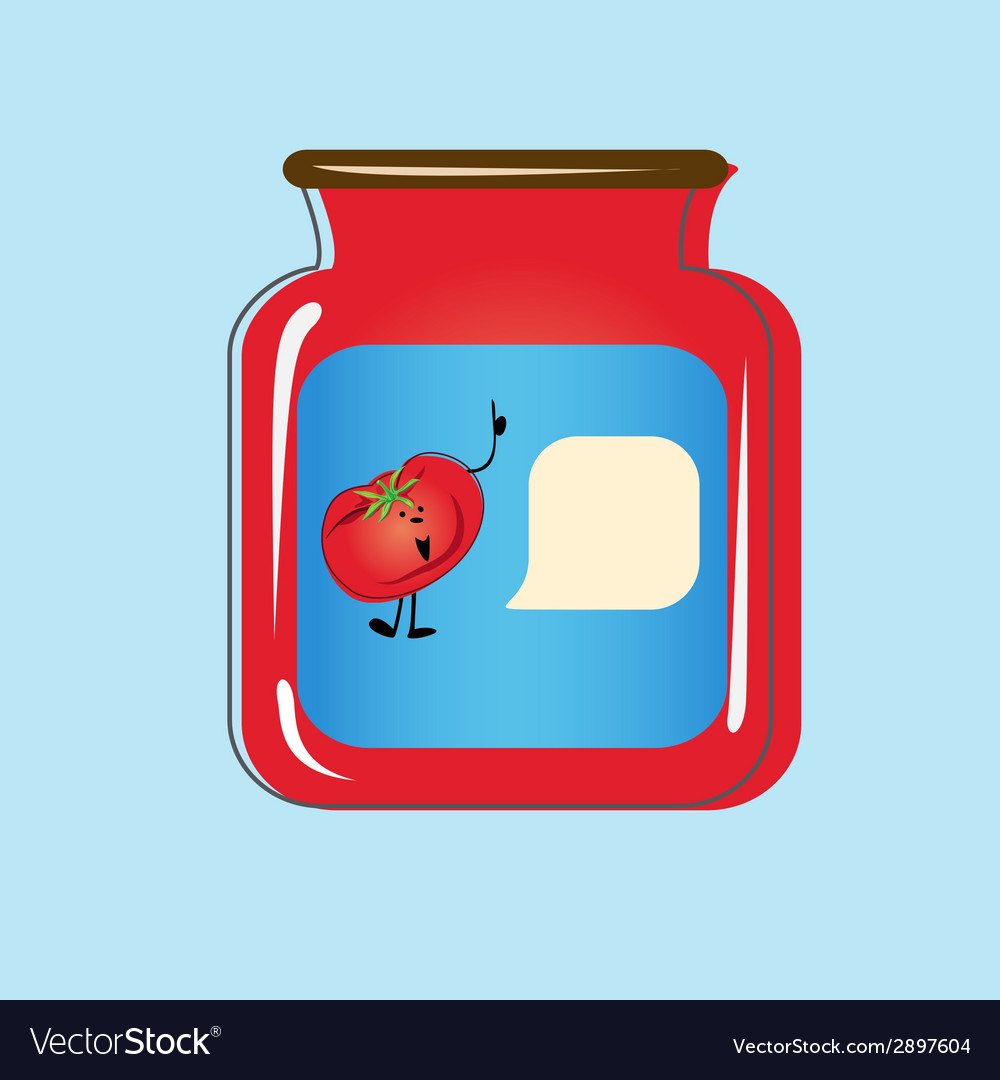 Bank with home canned tomatoes design