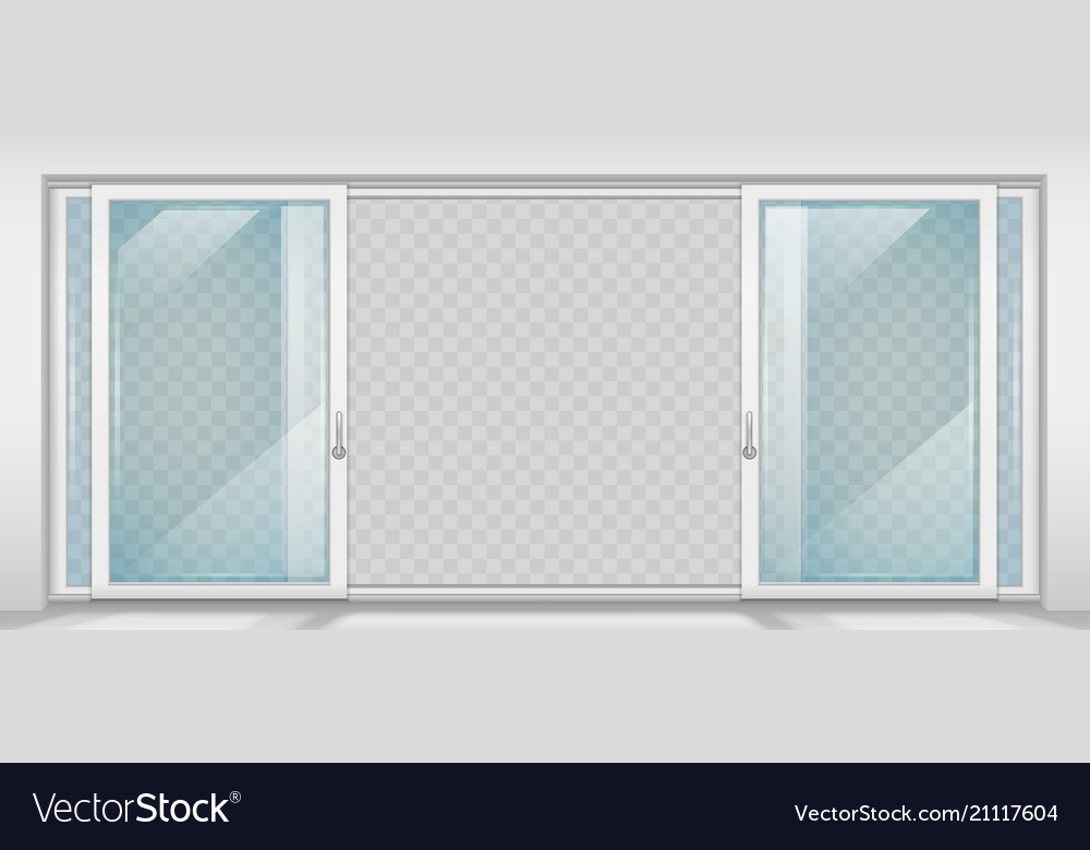 Contemporary sliding door