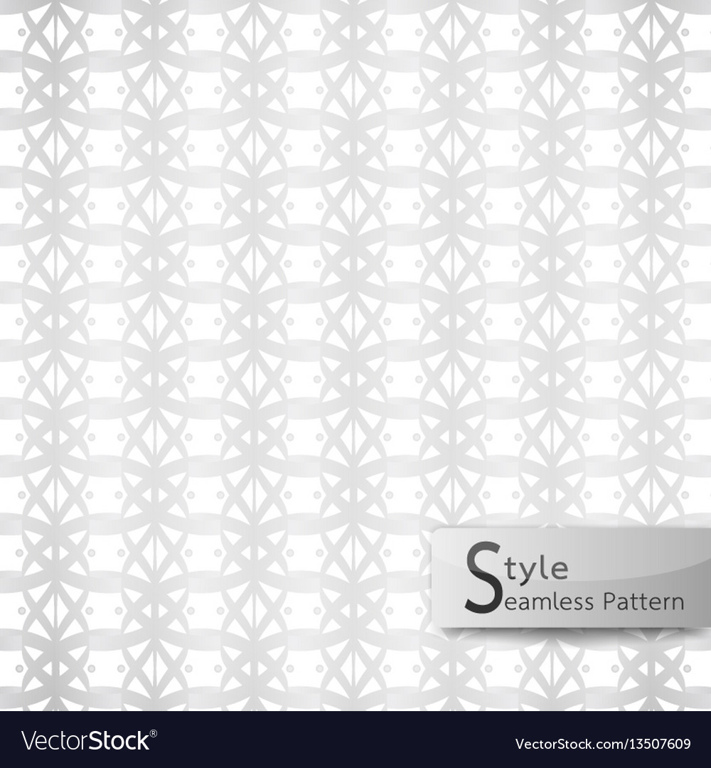 Abstract seamless pattern lotus floral mesh loop