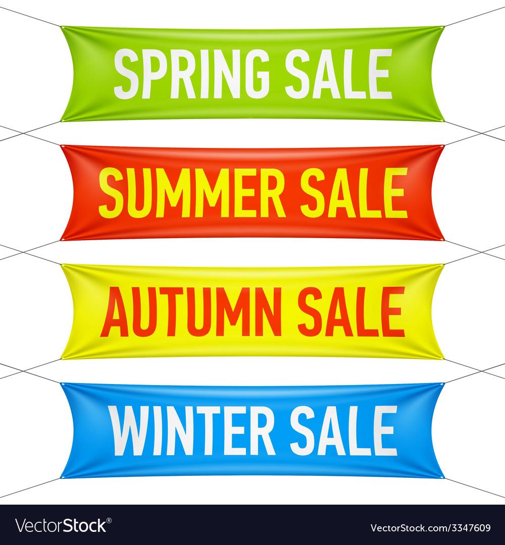 Winter Sale Banners Shoe Shop Banners