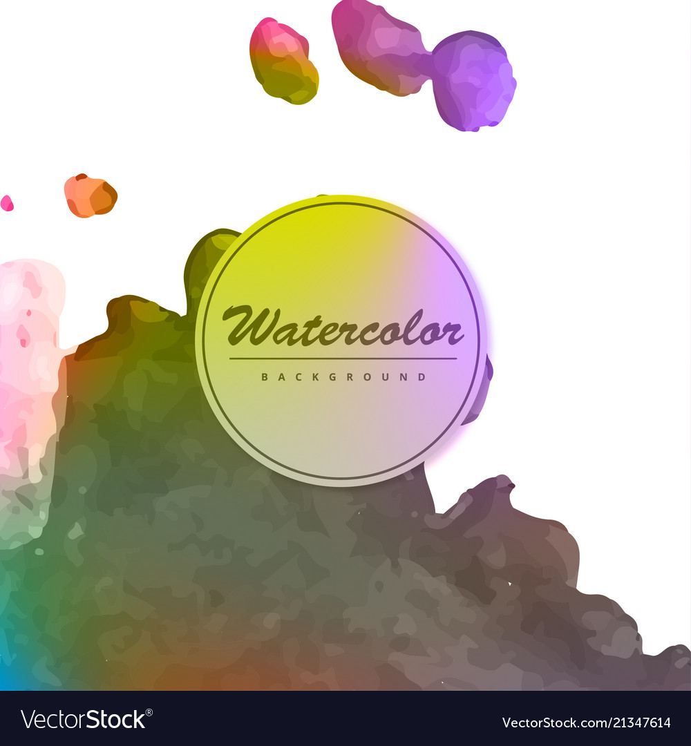set abstract colorful wave flow design elements