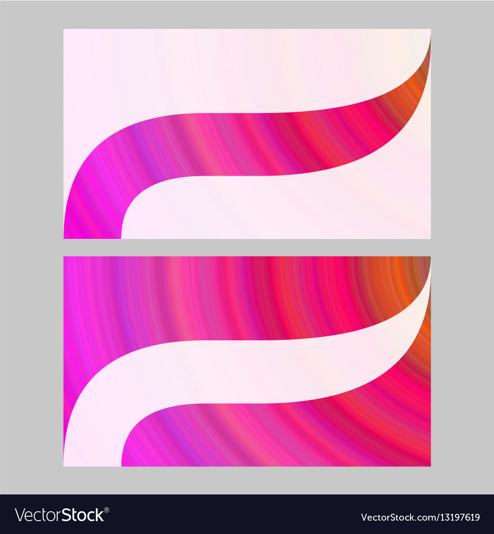 Abstract Art In Business Cards