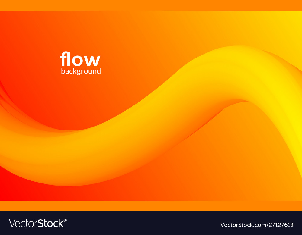 Abstract futuristic flow background wave pattern