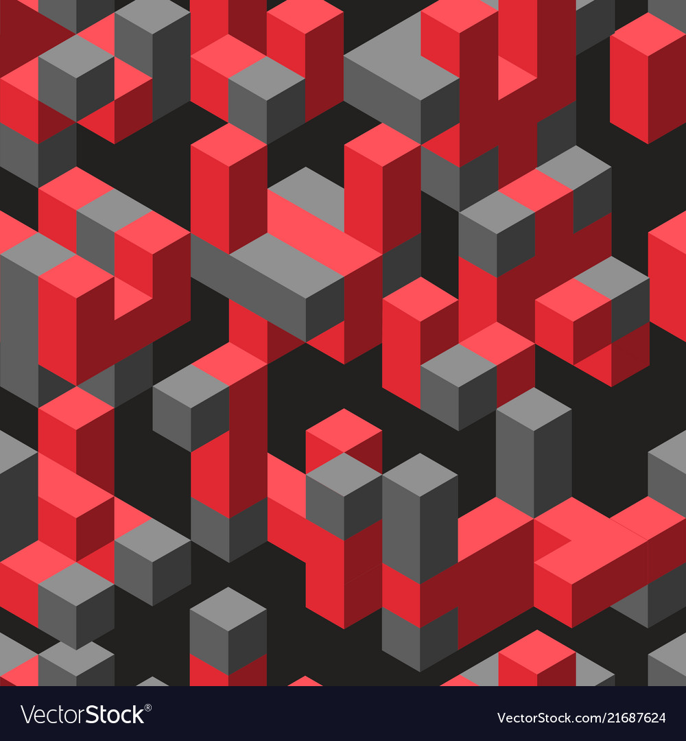 Abstract isometric geometric