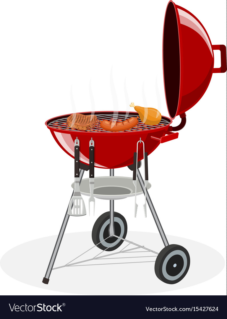 Barbecue grill picnic camping cooking