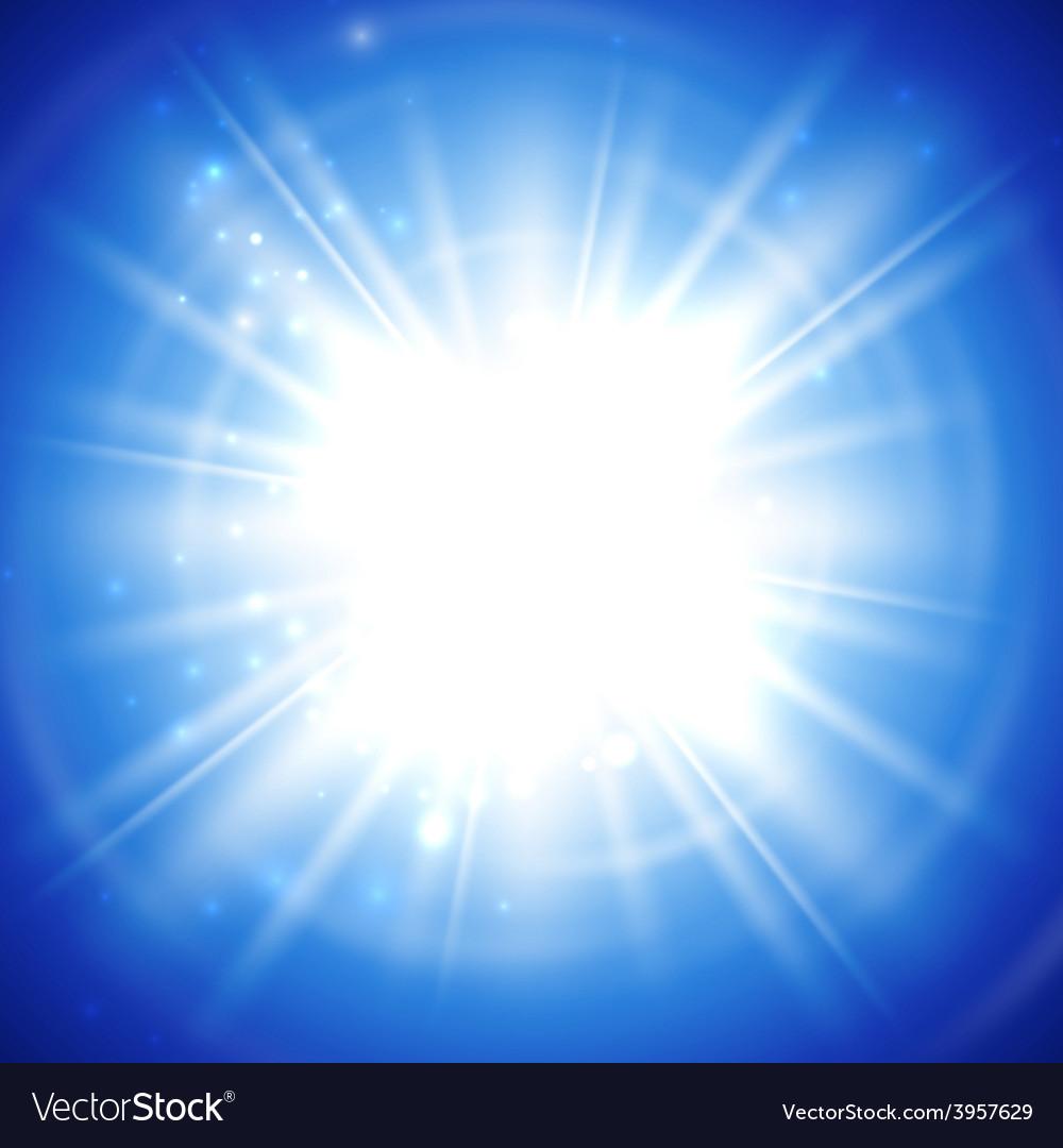Bright flash explosion or burst