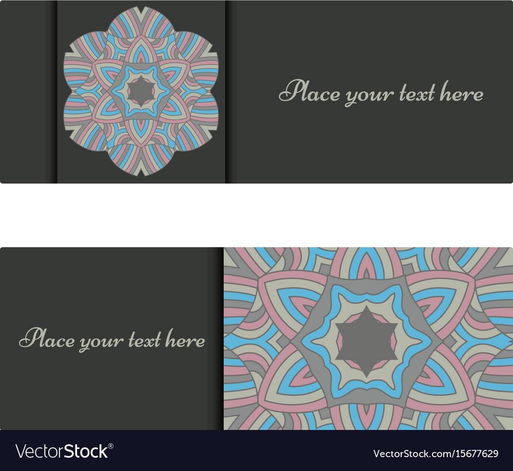 Horizontal banner templates