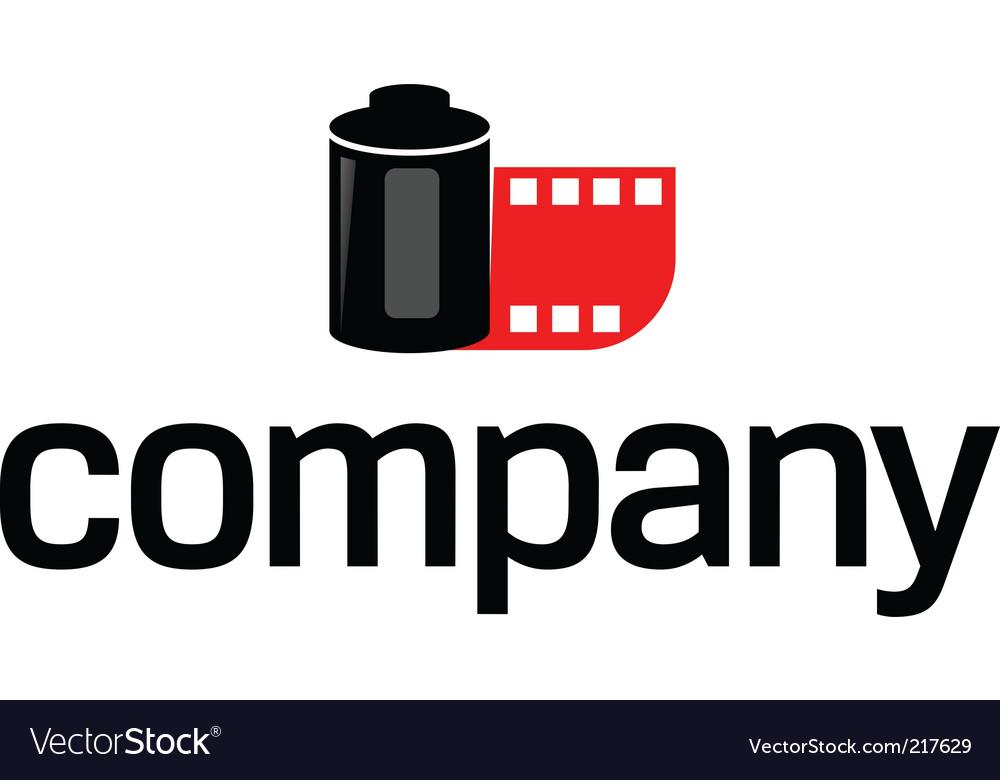 photo film logo royalty free vector image vectorstock rh vectorstock com lucas film vector logo film festival logo vector