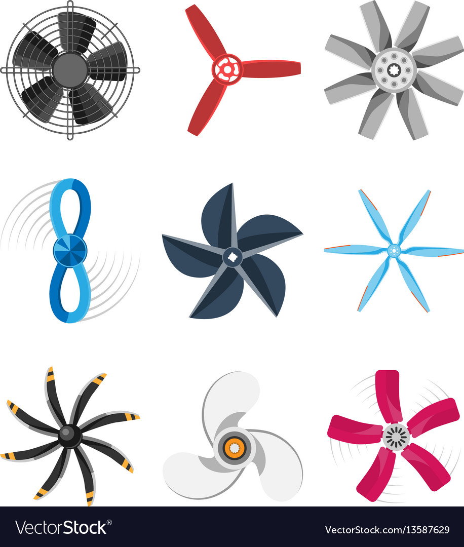Propeller fan fan propeller