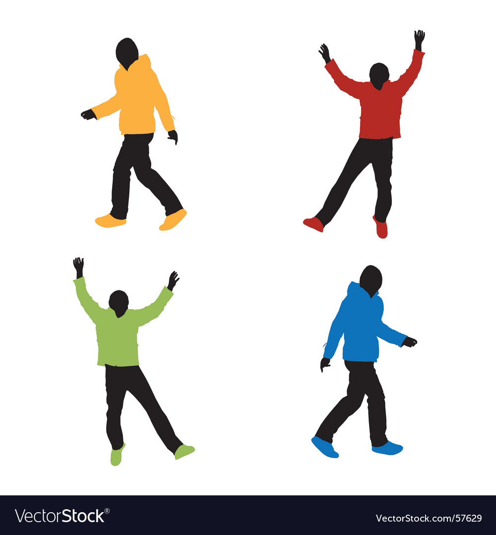 Sports fashion vector image