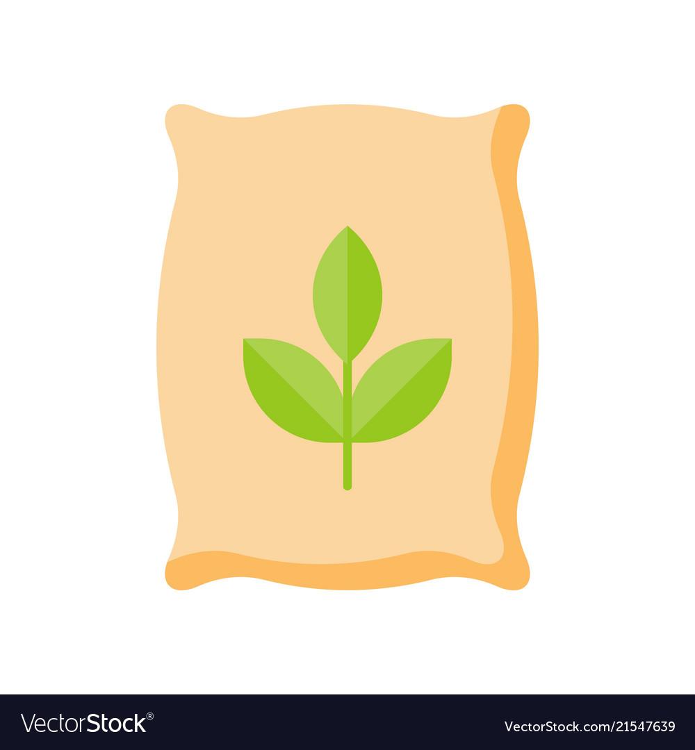 Fertilizer flat icon