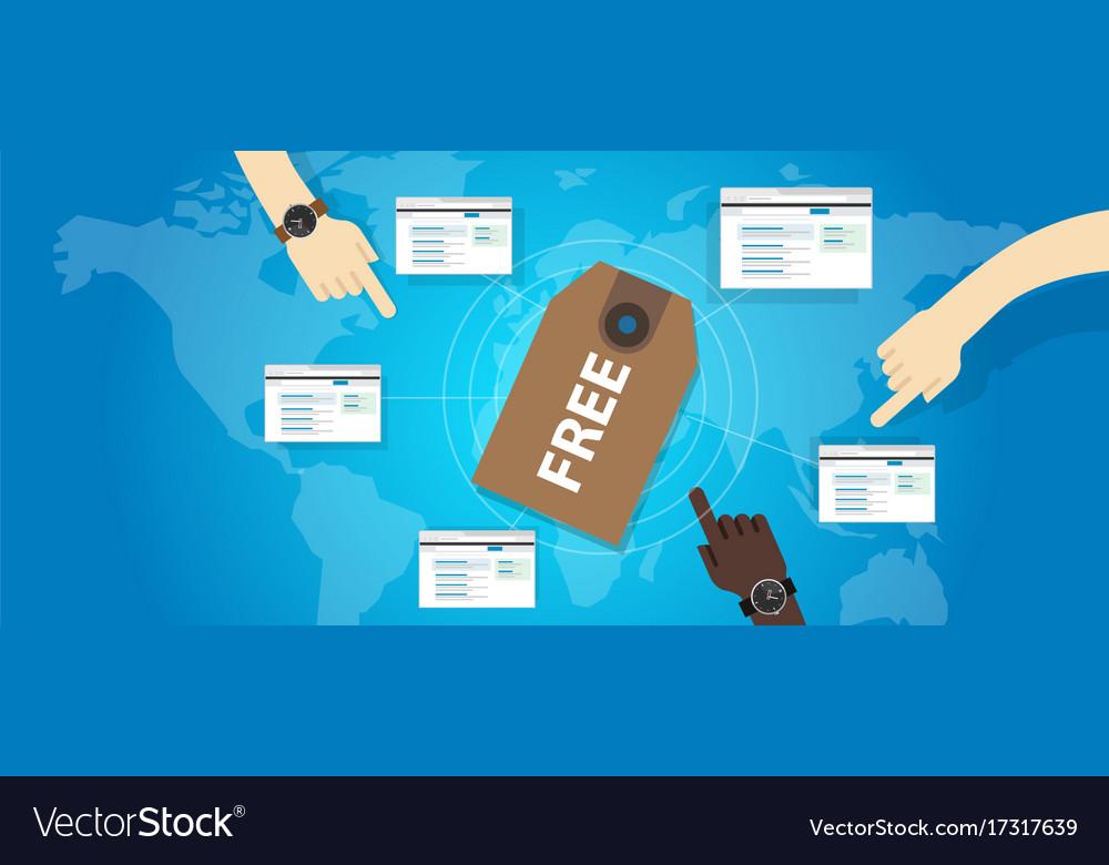 Free software online service web voucher price tag
