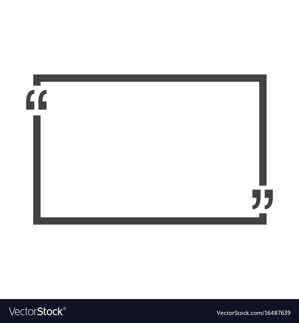 Quote bubble blank templates empty business card vector image wajeb Image collections