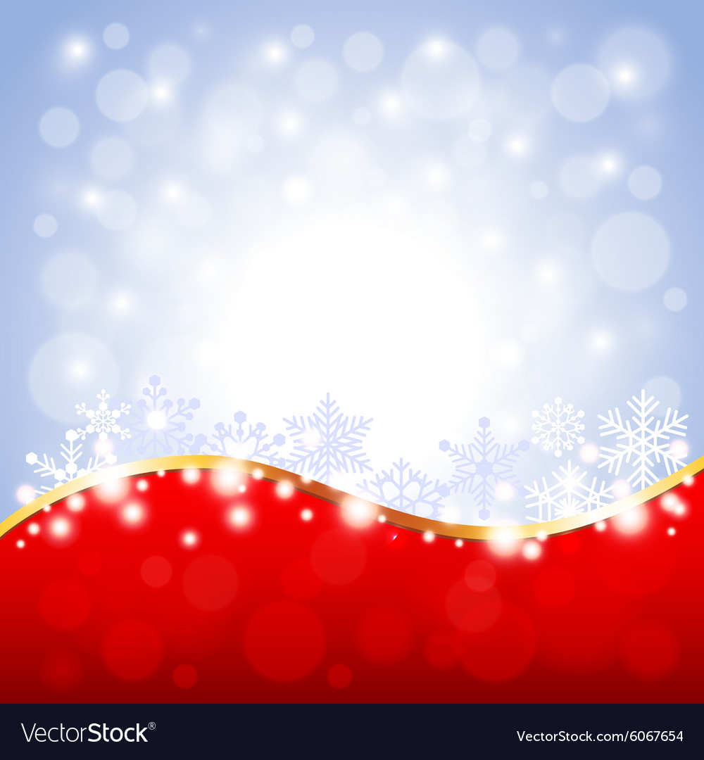 Red and white Christmas background Royalty Free Vector Image