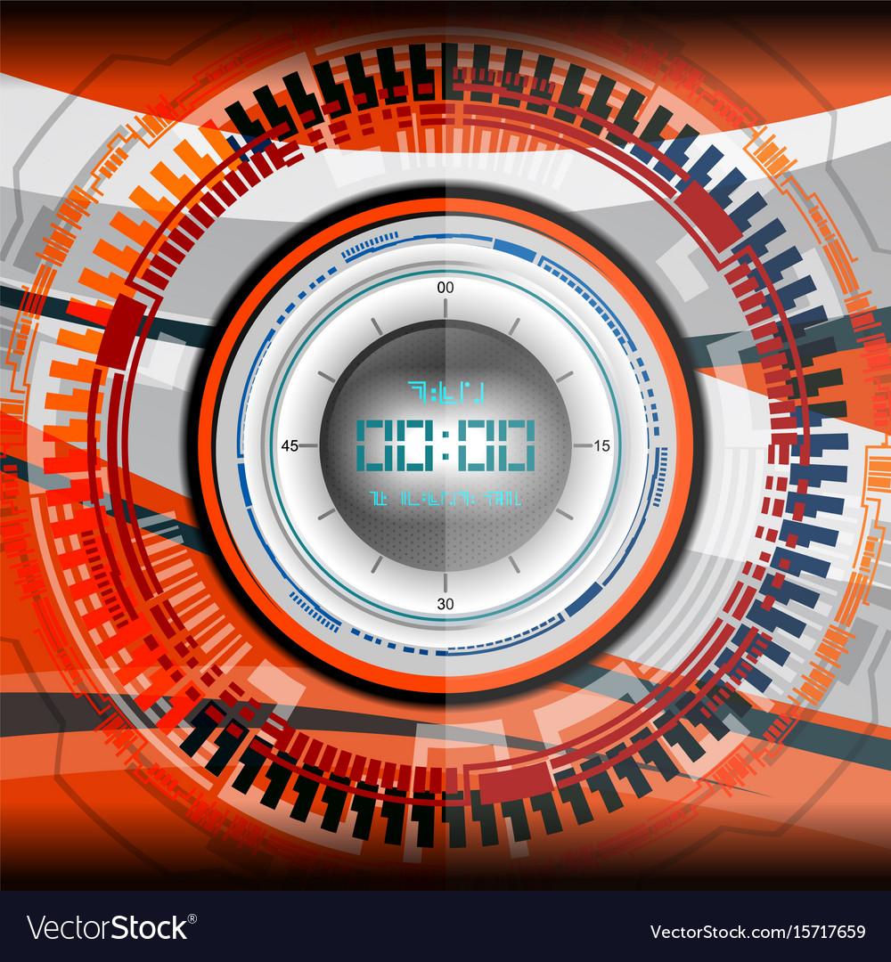 Cyber timer digital