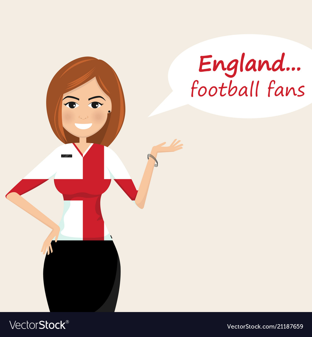 England football fanscheerful soccer fans sports