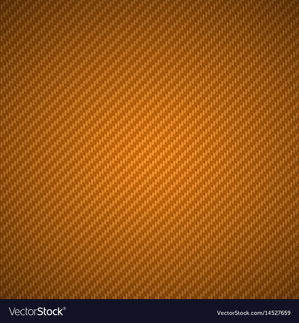 Golden carbon fiber metal grid texture vector image