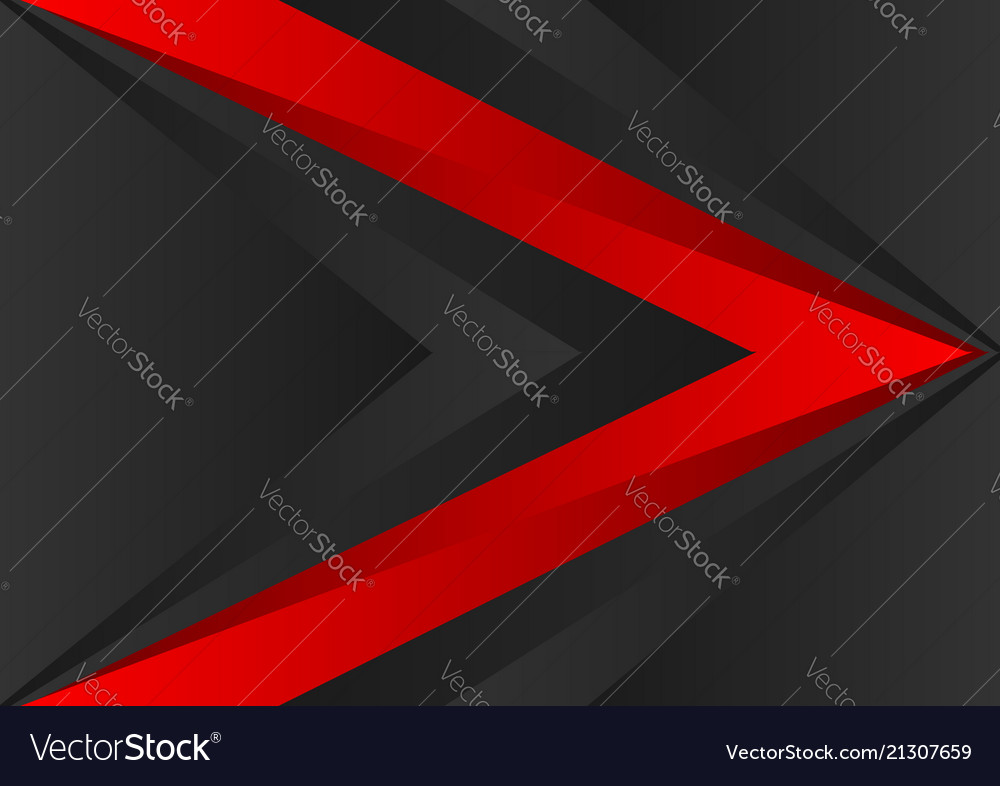 Red and black color geometric abstract background
