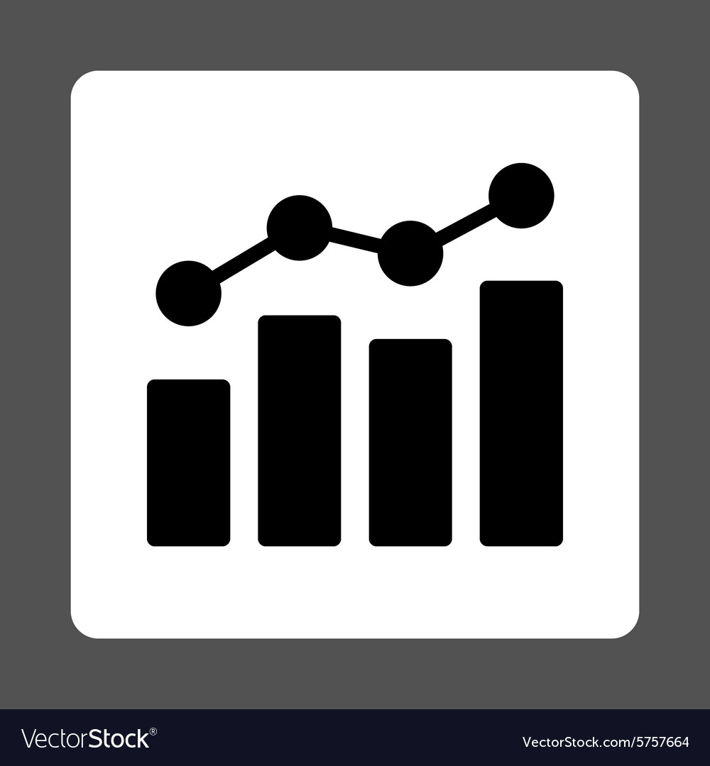 analytics icon royalty free vector image vectorstock vectorstock