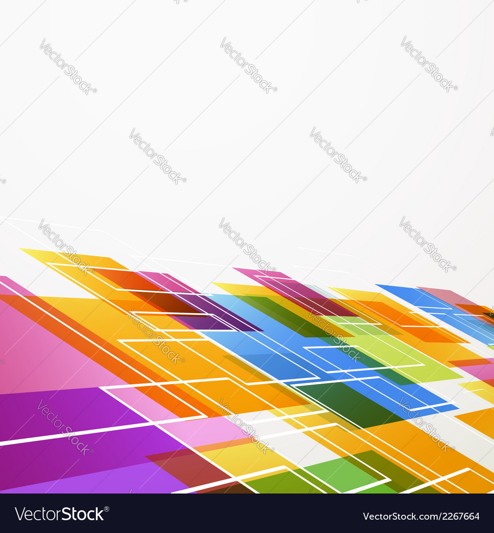 Bright colorful abstract tile background