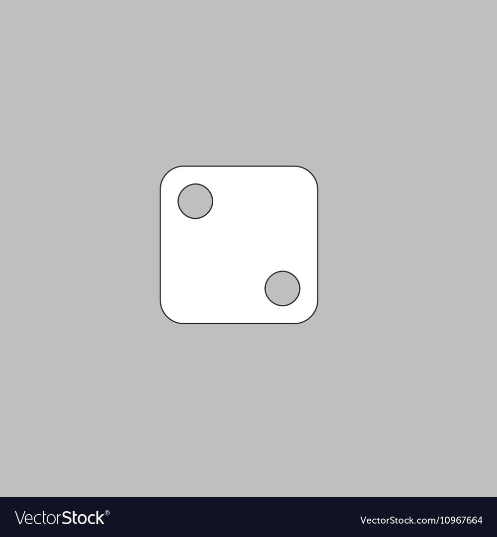 Dice 2 computer symbol
