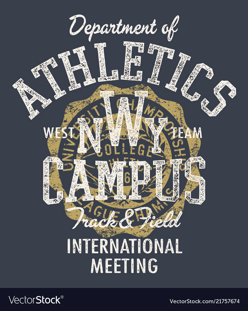 College athletic department track field meeting