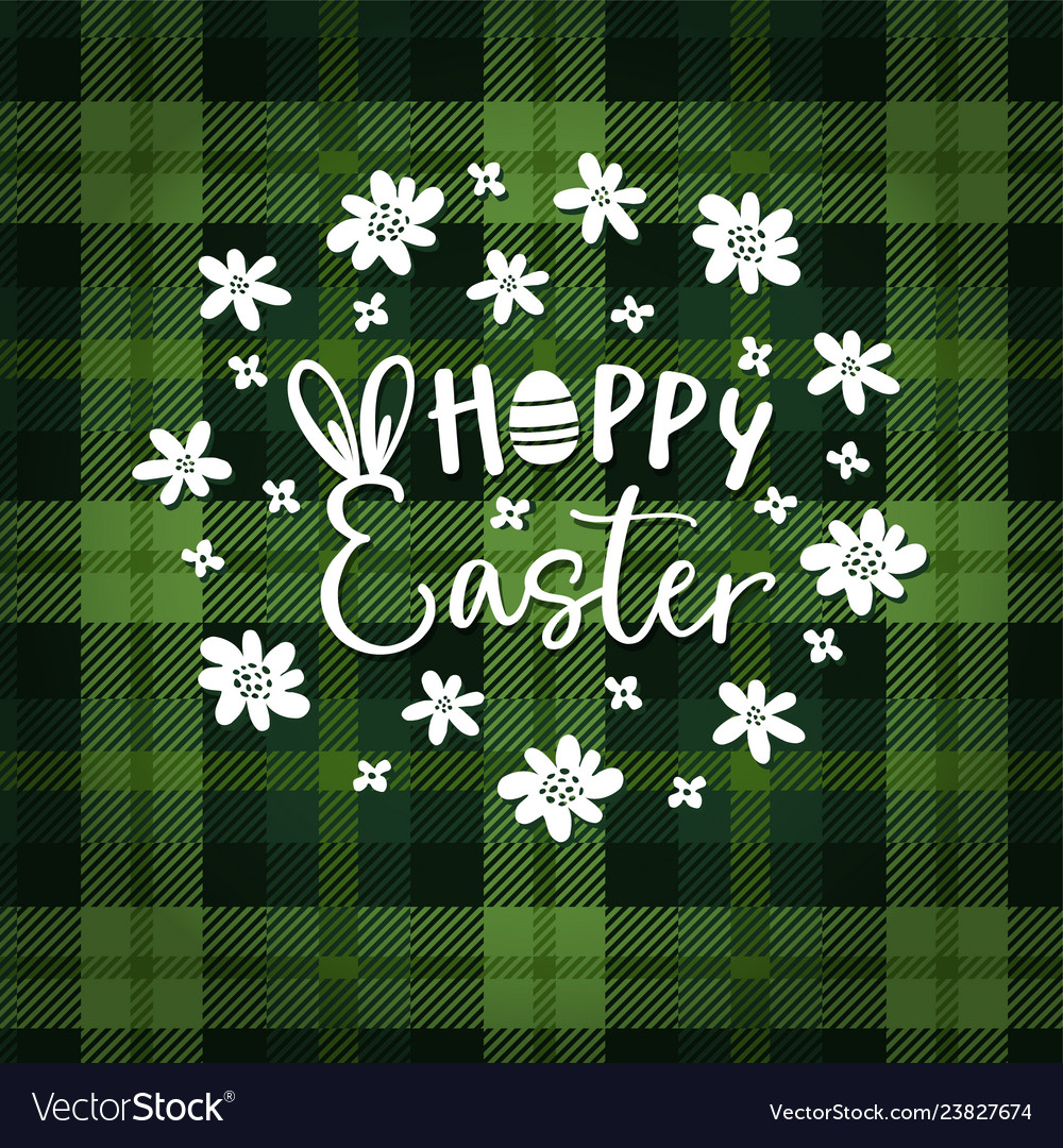 Hoppy easter spring greeting card invitation