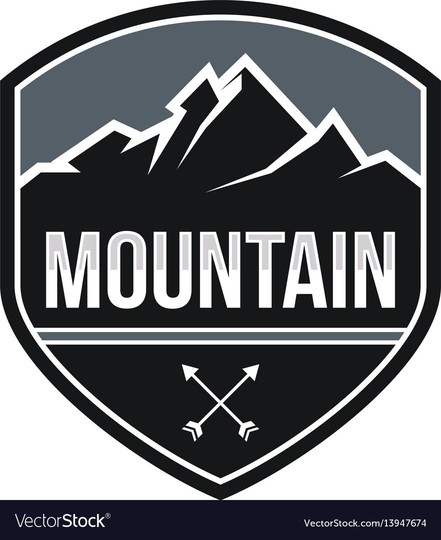 Mountain expeditions logo design