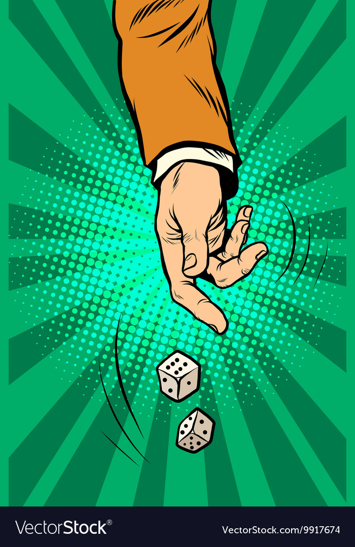 Throw A Dice.Throw The Dice Game Randomness Casino