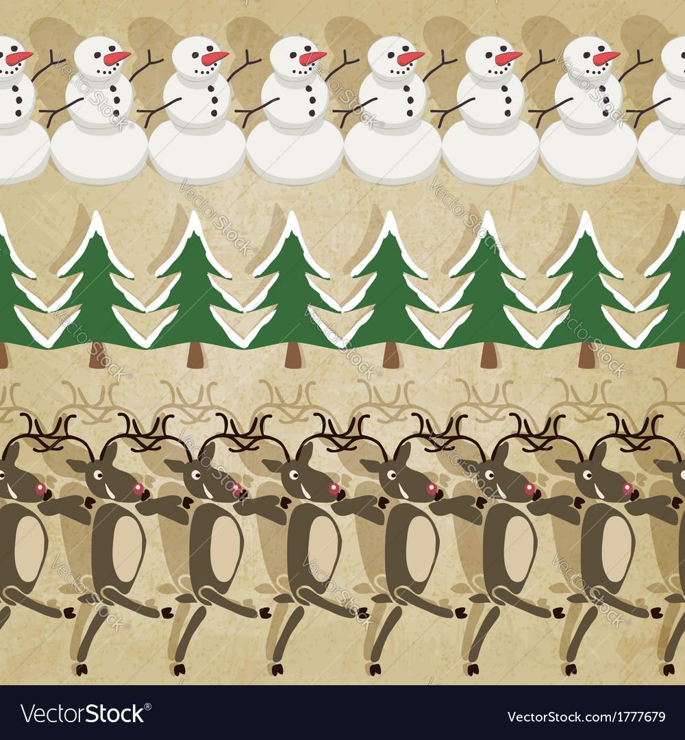 Christmas border lines