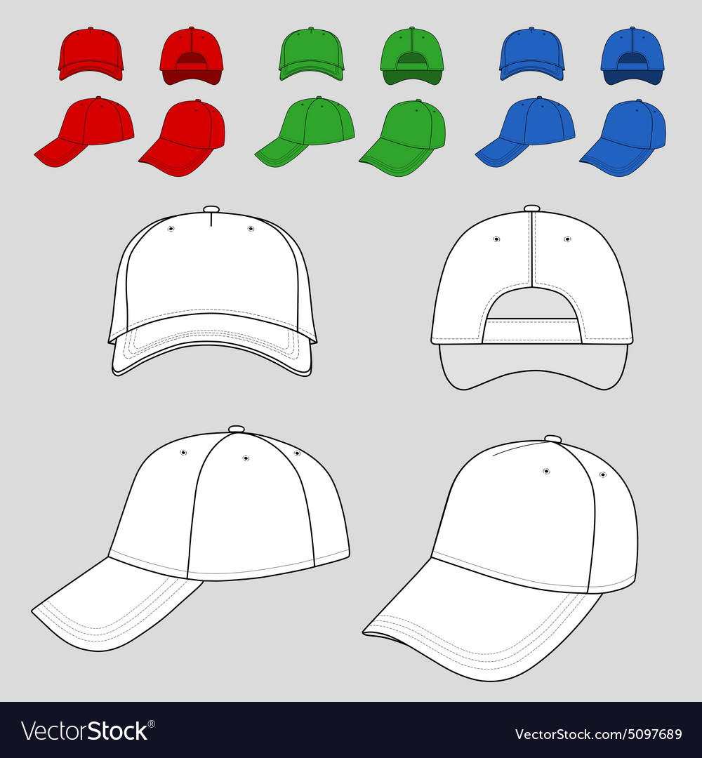 764ca5dd Baseball Hat Brim Template