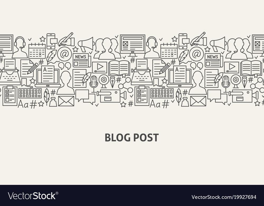 Blog banner concept