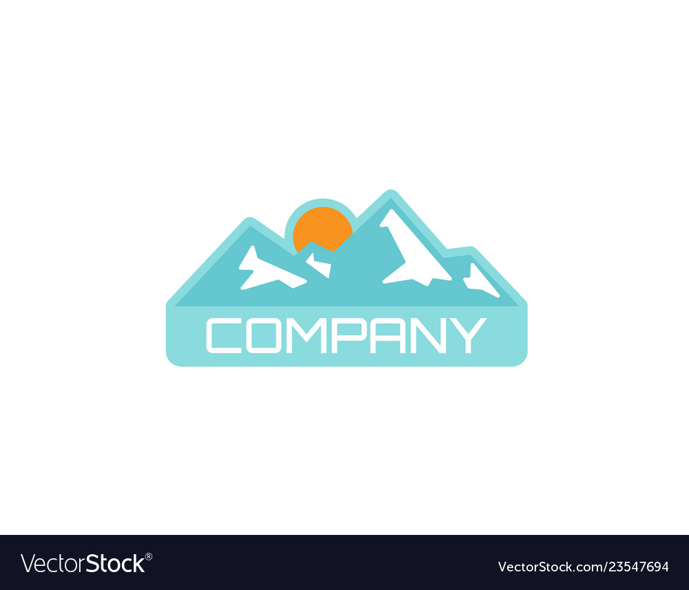 Camping outdoor adventure emblems logo