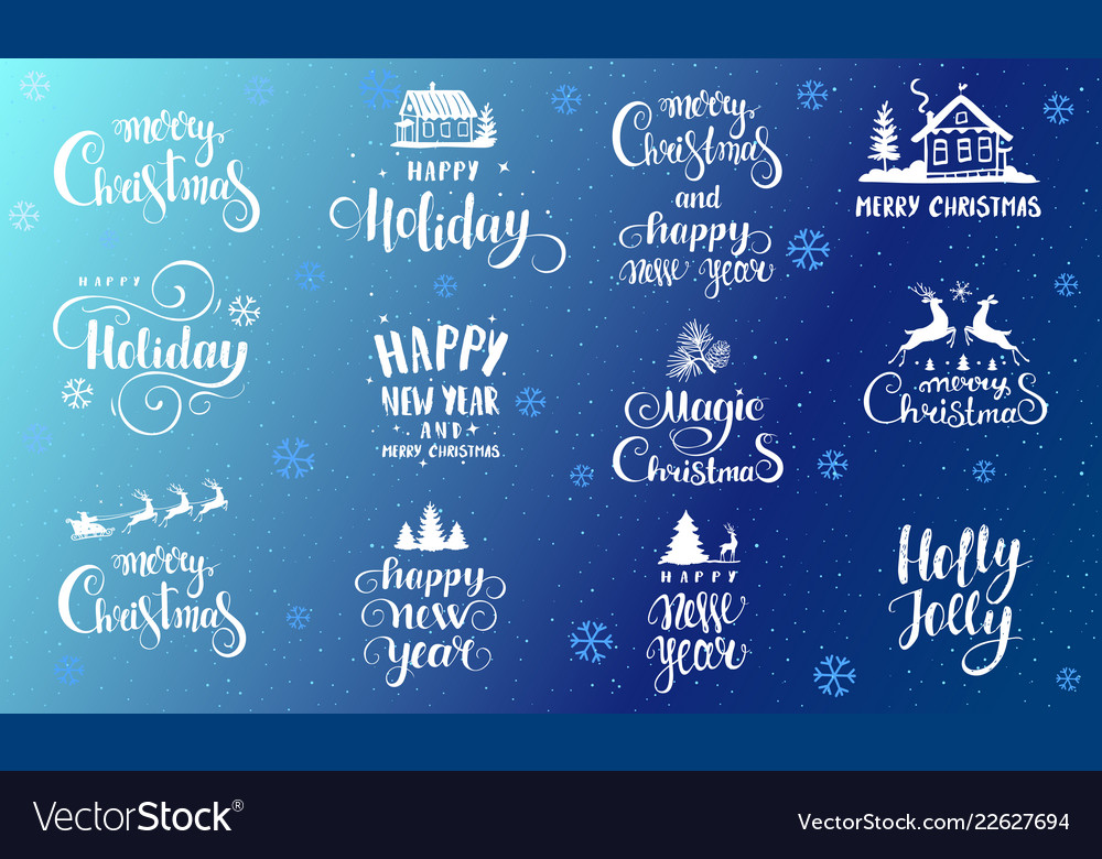 Fonts holidays