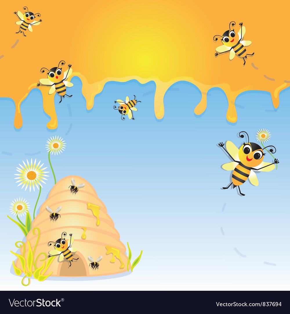 Honey Bee Party Invitation