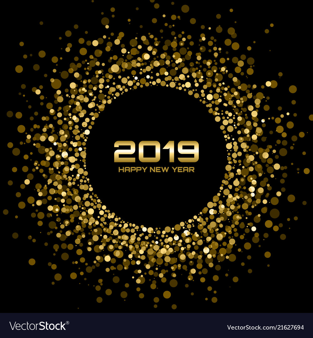 New year 2019 card background christmas holiday