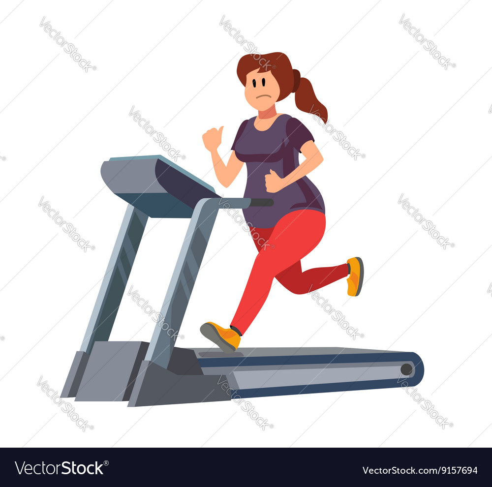 Image result for image woman on treadmill