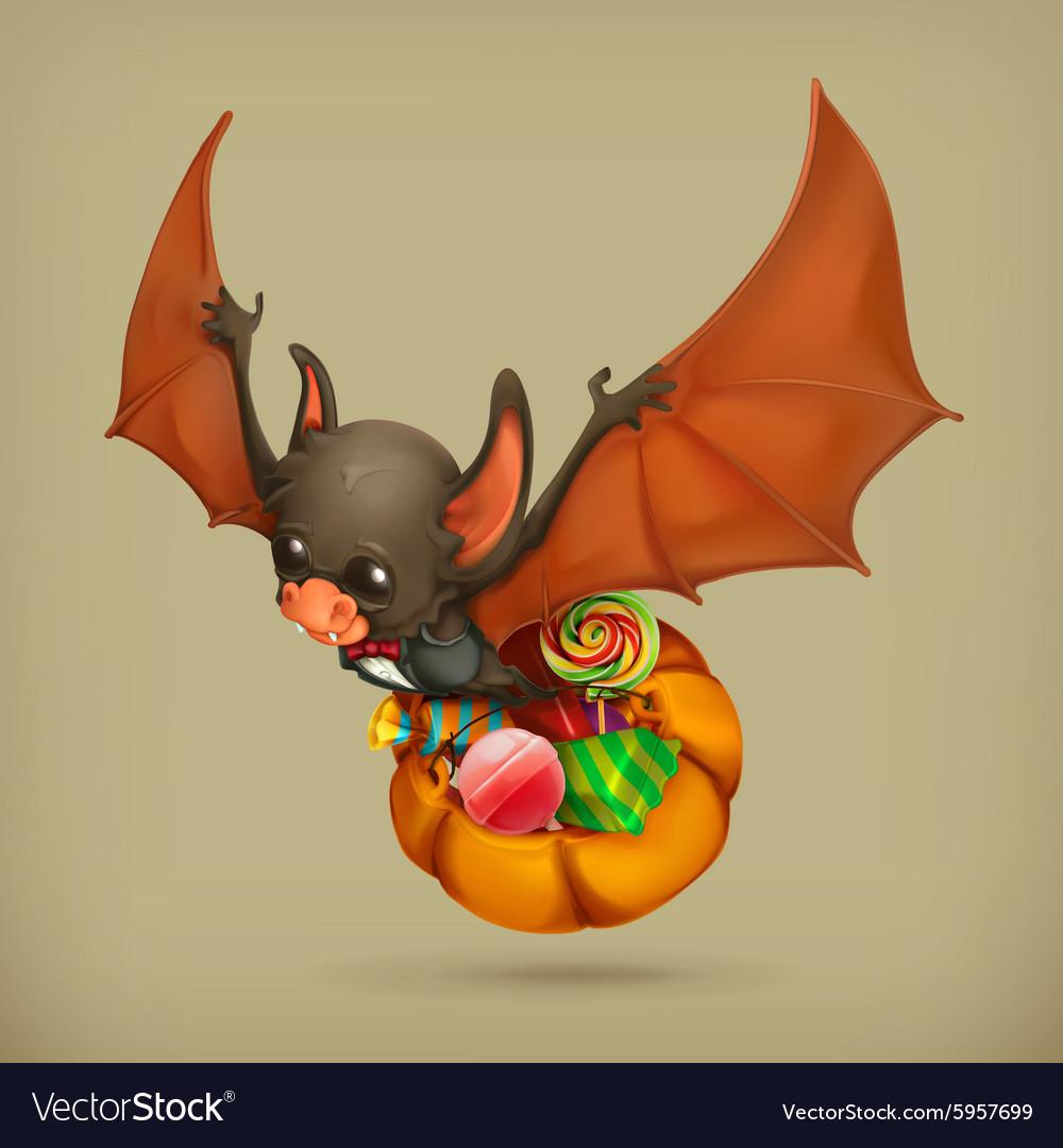 Funny bat icon